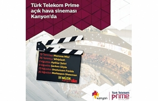 Türk Telekom Prime ile Açık Hava Sineması Kanyon'da