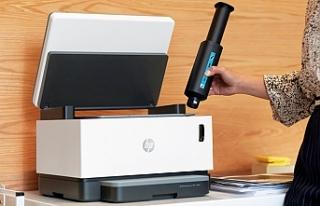 HP'den dünyanın ilk toner doldurulabilir tanklı...