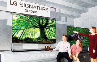 LG, 8K OLED ve NanoCell TV'lerini global pazara...