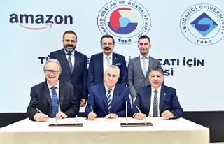 TOBB, Boğaziçi Üniversitesi ve Amazon'dan KOBİ'leree-ihracat...