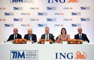 ING Türkiye ve TİM işbirliği ile ihracatçılara...