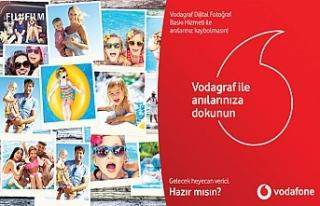 Vodafone'lular dijital fotoğraflarını tek tıkla...
