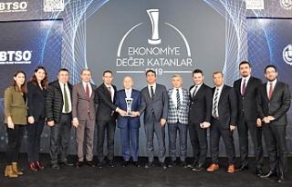 Limak Enerji Bursa'da ödüllendirildi