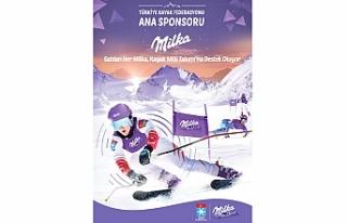 Milka 2020'de de Türk kayağına destek