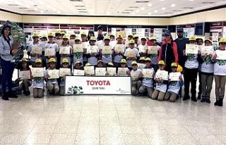 Toyota Otomotiv sosyalsorumluluk çalışmalarına...