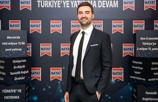 """Hayat Kimya Türkiye Genel Müdürü Enes Çizmeci;""""Dünyada..."""
