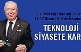 21. Avrasya Ekonomi Zirvesi, 11-12 Nisan 2018'de,...