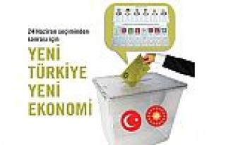 """24 Haziran seçiminden sonrası için """"Yeni Türkiye..."""
