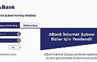 ABank internet şubesini yenilendi