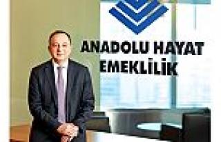 Anadolu Hayat Emeklilik'in aktif büyüklüğü...