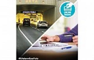 Avrasya Tüneli geçiş ücreti artık internette