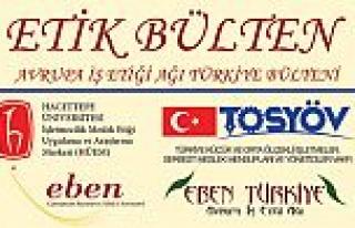 Avrupa İş Etiği Ağı Türkiye Bülteni