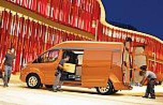 Avrupa'nın çok satan ticari araçları; Tourneo...