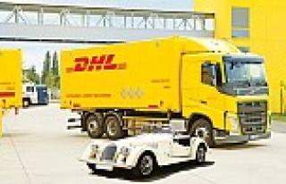 DHL Freight, efsane aracı İstanbul'a getirdi