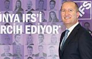 IFS, dünyayla rekabet edebilen Türk şirketleri...