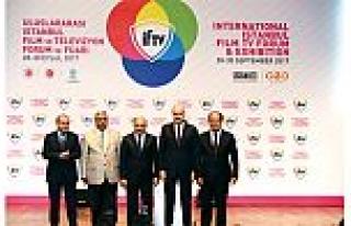IFTV'ın açılışını Fikri Işık ve Numan Kurtulmuş...
