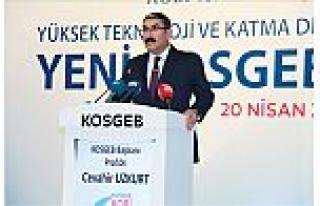 KOSGEB, KOBİ Zirvesi'nde 'yeni vizyonunu' ortaya...