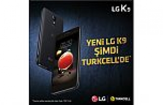 LG K9, Türkiye'de, Turkcell mağazalarında