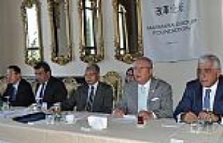 Marmara Grubu Çinli Heyet ile biraraya geldi İpek...