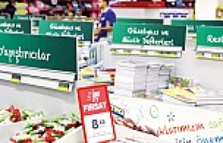 Metro Toptancı Market'te 'Okula Dönüş Dönemi'...