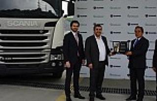 Naturelgaz, Scania'dan Türkiye'nin ilk CNG'li...