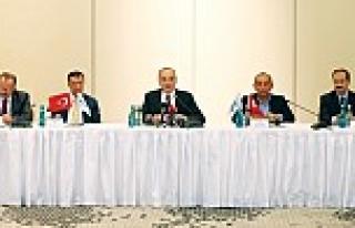 OSD temsilcileri, Bakan Faruk Özlü ile sektörü...