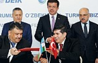Özbekistan Başbakan Yardımcısı Rustam Azimov...