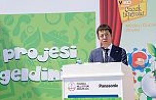 Panasonic enerji verimliğine odaklandı, okulları...