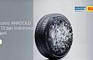 Pirelli'den Anadolu Sigorta sahiplerine özel kampanya
