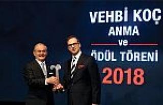 Prof. Dr. Yılmaz Büyükerşen, 17. Vehbi Koç Ödülü'nün...