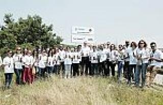 Türk Telekom çalışanları için binlerce fidan...