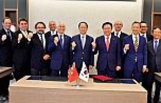 Türkiye ve Güney Kore müteahhitleri güçlerini...