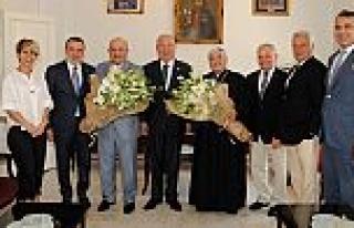 Yeni atanan Süryani Katolik Patrik Vekili'ni Marmara...