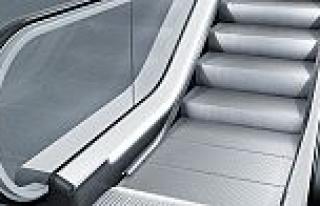 Yürüyen merdiven ve yollarda ileri teknoloji; KONE...