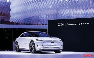 Elektrikli INFINITI Qs Inspiration, Şangay'da fuarda tanıtıldı