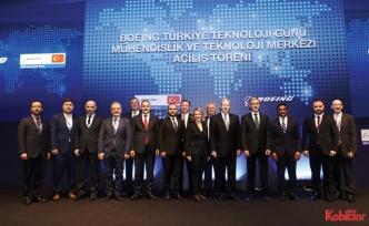 Boeing Türkiye'deki ilk 'Mühendislik ve Teknoloji Merkezi'ni açtı