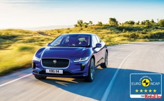 Jaguar I-PACE, Euro NCAP güvenlik testlerinden 5 yıldız aldı