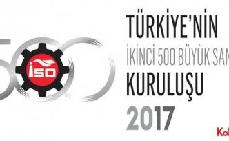 İstanbul Sanayi Odası (İSO) İkinci 500 Büyük-2017'yi açıkladı: Karlılık arttı, faiz yükü frenledi