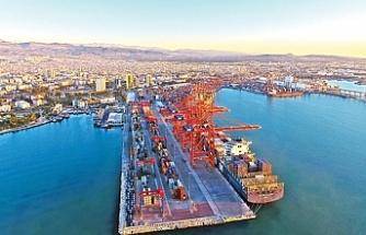 Mersin Limanı, konteyner işlem hacmiyle lider