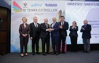 Kastamonu Entegre, 'Teknoloji Ödülü'nün sahibi oldu