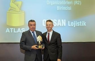 OMSAN'a Atlas Lojistik Ödülleri'nden ödül