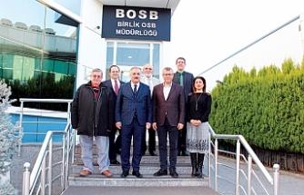 Ali Akça'dan Birlik OSB'ye ziyaret