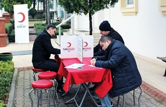 Birlik OSB'de, Kızılay Kan Bağış Kampanyası