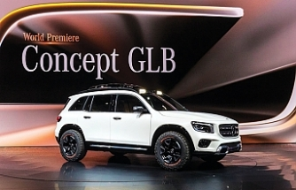 Mercedes-Benz Concept GLB dünya tanıtımını Çin'de yaptı