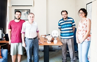 Boğaziçi Üniversitesi'nden'Can Yoldaşı' Robot