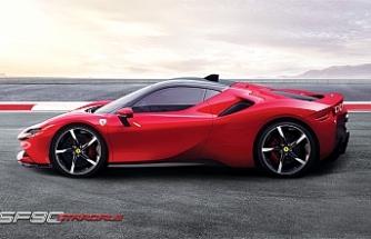Ferrari'den hibrit hiper otomobil;SF90 Stradale