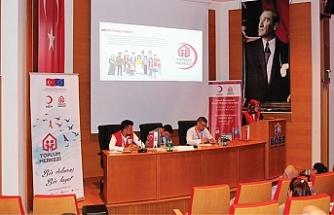 Birlik OSB'de Kızılay İstihdam Programları Bilgilendirme Toplantısı gerçekleştirildi