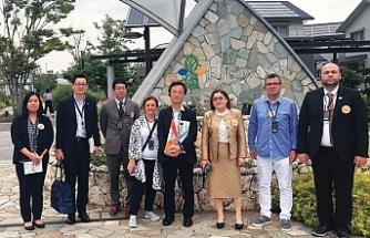 Gaziantep Belediyesi'nden Panasonic Fujisawa akıllı şehrine ziyaret