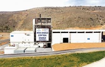 Trabzon'da 13 bin hanenin elektriği çöpten karşılanacak