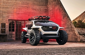 Audi'den otonom off-road aracı AI: TRAIL